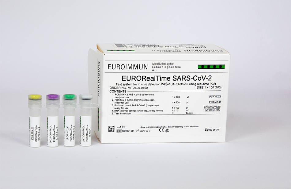 EURORealTime-PCR SARS-CoV-2 from EUROIMMUN